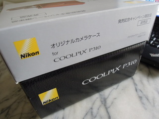 Nikon COOLPIX P310 ホワイトが届いた