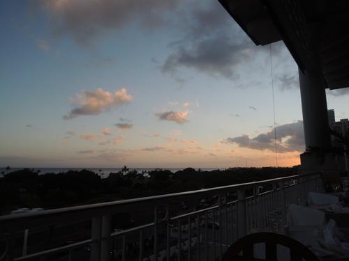 ハワイ アラモアナ マリポサの料理画像(ニコンP310で撮影)