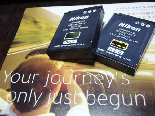 NikonP300・P310バッテリーEN-EL12