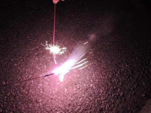 夏休み 花火画像 ニコン COOLPIX P310で撮影